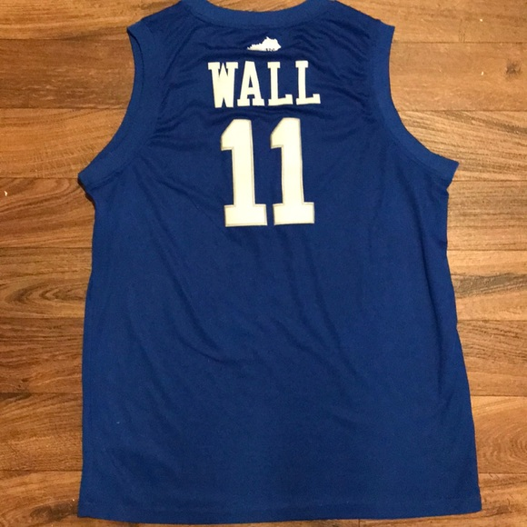 huge discount 6f5a2 59ad1 John Wall College Basketball Jersey - Kentucky